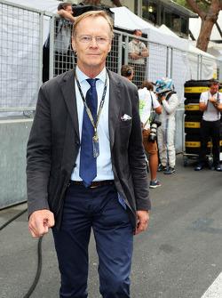 Ari Vatanen, Former World Rally Champion on the grid