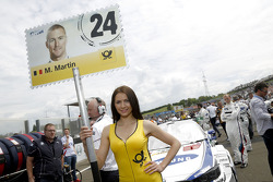 Gridgirl of  Maxime Martin, BMW Team RMG BMW M4 DTM