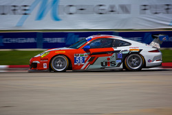 #58 Snow Racing Porsche 911 GT America: Madison Snow & Jan Heylen