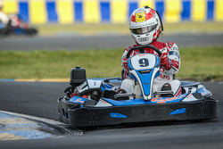 Media/drivers karting race: Tom Kristensen