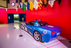 Corvette safety car on display