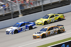 Carl Edwards, Matt Kenseth and Greg Biffle
