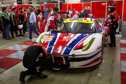 #62 AF Corse Ferrari 458 Italia: Yannick Mallegol, Jean-Marc Bachelier, Howard Blank