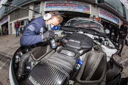 Schubert Motorsport team member at work