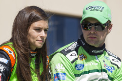 NASCAR-CUP: Danica Patrick and Ricky Stenhouse Jr.