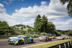Start: #007 Aston Martin Racing Aston Martin Vantage V12 GT: Stefan Mücke, Pedro Lamy, Darren Turner