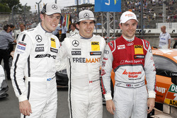 Polesitter Robert Wickens, second place Paul di Resta, third place Jamie Green