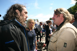 Ross Noble and Charley Boorman