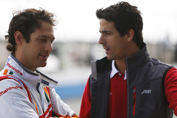 Bruno Senna and Lucas di Grassi
