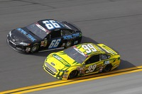 Michael Waltrip, Michael Waltrip Racing Toyota and Carl Edwards, Roush Fenway Racing Ford