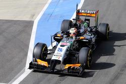 F1: Sergio Perez, Sahara Force India F1 VJM07