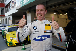 Pole for Maxime Martin, BMW Team RMG BMW M4 DTM