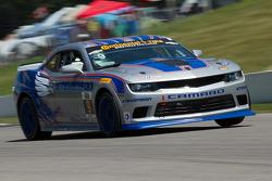 #9 Stevenson Motorsports Camaro Z/28.R: Andy Lally, Matt Bell