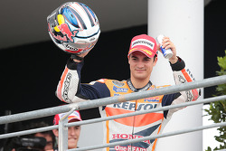Podium: second place Dani Pedrosa