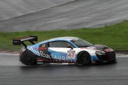 #47 D'Station Hai Racing Audi R8 LMS GT3: Satoshi Hoshino