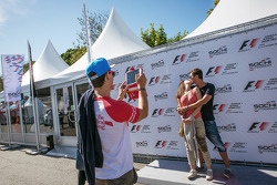 Fun at the Sochi Autodrom display