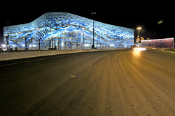 F1: A view of the Sochi area
