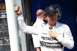 F1: Pole for Nico Rosberg, Mercedes AMG F1