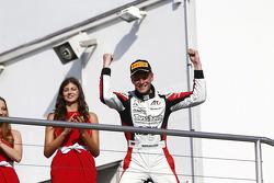 Podium: race winner Marvin Kirchhofer