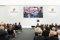 AUTOMOTIVE: The opening of the Porsche development centre in Weissach