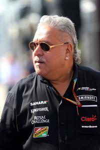 Vijay Mallya, Team Owner, Sahara Force India