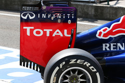 Red Bull Racing RB10 rear wing