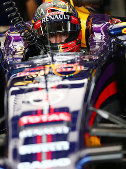 F1: Sebastian Vettel, Red Bull Racing RB10