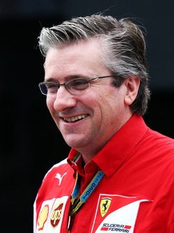 Pat Fry, Ferrari Deputy Technical Director and Head of Race Engineering.