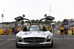 Safety car on the grid Photo: Sam Bloxham/GP2 Series Media Service. ref: Digital Image _SBL8822