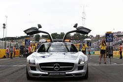 Safety car on the grid Photo: Sam Bloxham/GP2 Series Media Service. ref: Digital Image _SBL8822