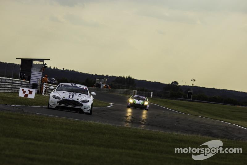 #49 TF Sport Aston Martin Vantage GT4: Andrew Jarman, Devon Modell