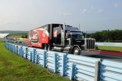 Hauler of Kurt Busch, Stewart-Haas Racing Chevrolet