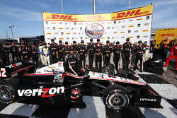 Race winner Will Power, Team Penske Chevrolet