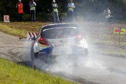 WRC: Robert Kubica and Maciek Szczepaniak, Ford Fiesta WRC