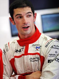 F1: Alexander Rossi, Marussia F1 Team Reserve Driver