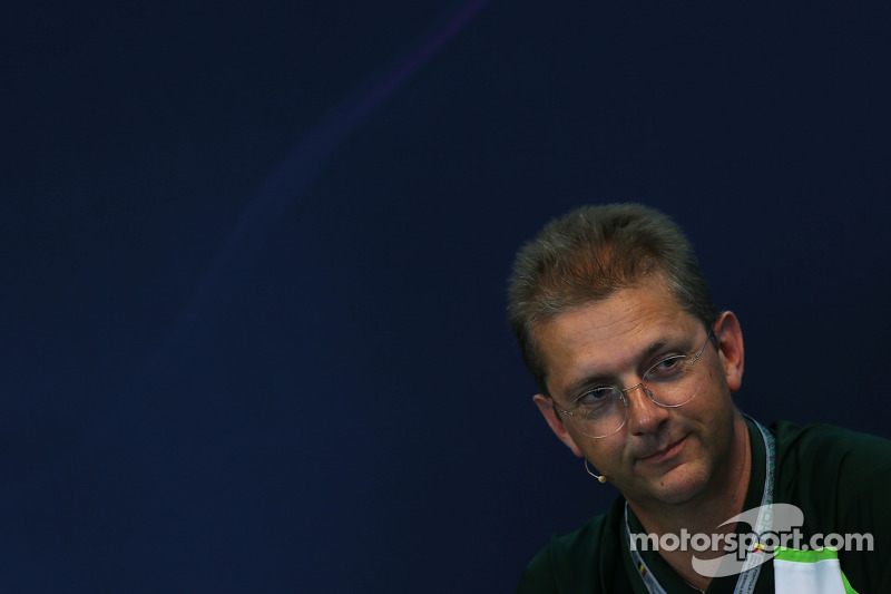 John Iley, Caterham F1 Team Technical Director in the FIA Press Conference