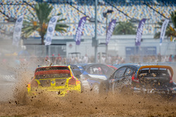 #34 Volkswagen Andretti Rallycross Volkswagen Polo: Tanner Foust, #14 Barracuda Racing Ford Fiesta ST: Austin Dyne