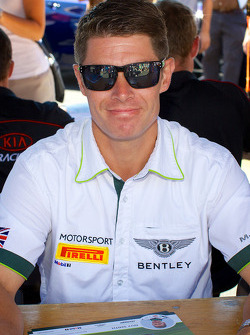 PWC: Guy Smith from Dyson Racing Team Bentley
