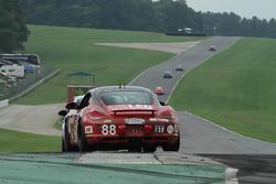 #88 Rebel Rock Racing Porsche Cayman: Corey Fergus, Tom Dyer
