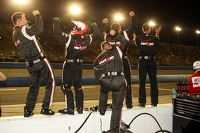 Will Power's team celebrates