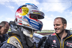Polesitters Jamie Whincup and Paul Dumbrell, Red Bull Holden
