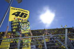 The Valentino Rossi fan section