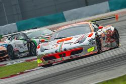 #3 Clearwater Racing Ferrari 458 Italia GT3: Keita Sawa, Mok Weng Sun
