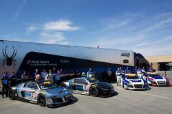 Audi customer racing group photo