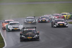 Start of the Race, Pascal Wehrlein, Mercedes AMG DTM-Team HWA DTM Mercedes AMG C-Coupé