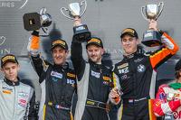 Pro Am podium: class winners Henry Hassid, Nick Catsburg