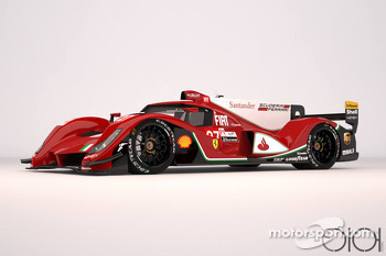 Ferrari LMP1 concept