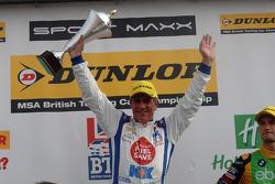 Round 25 Race winner Jason Plato, MG KX Clubcard Fuelsave