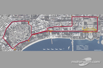European GP at Baku, Azerbaijan unveiled