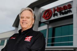 Gene Haas, en la fábrica de Haas F1 Team ubicada en Kannapolis, N.C.